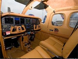 Cessna interiér