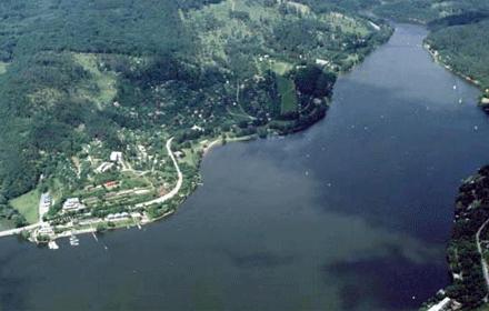 Vyhlídkový let Brněnská přehrada