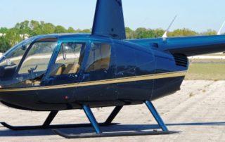 Vrtulník Robinson R44