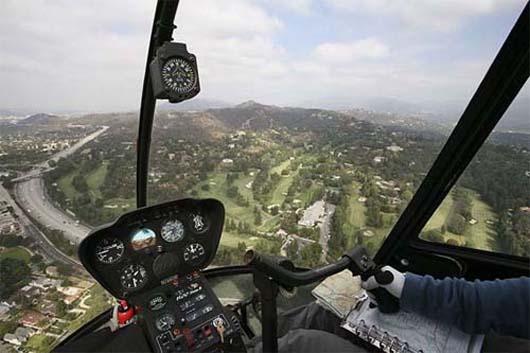 Vyhlídkový let vrtulníkem